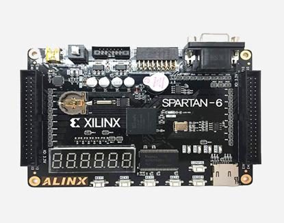 Picture of SPARTAN6 EVULATION FPGA