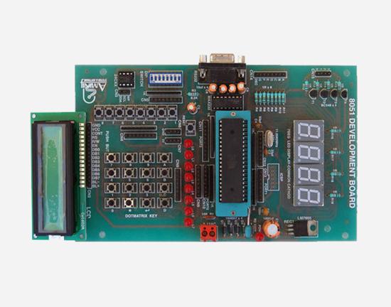 Picture of 8051 development board