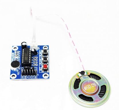 Picture of ISD1820 Voice Recording Module With Mic & Audio Loudspeaker