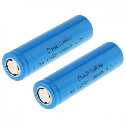 Picture of 18650 Lion 1200mAh 3.7V Rechargeable Battery