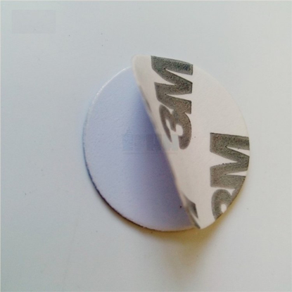 Picture of 125KHZ TK4100/EM4100 25mm RFID Coin Card With 3M Adhesive RFID