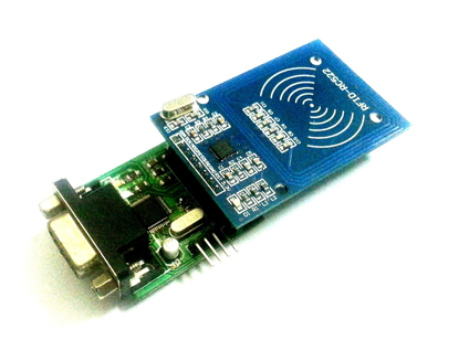 Picture of Contactless Smart Card Reader/Writer 13.56MHz Serial and TTL
